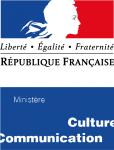 Logo ministere culture et communication