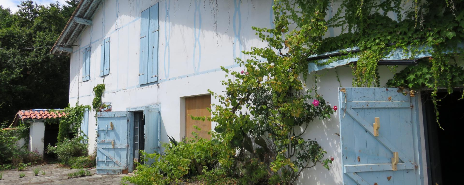 Maison Katalinkoenea dans le domaine d'Abbadia - Hendaye [64]