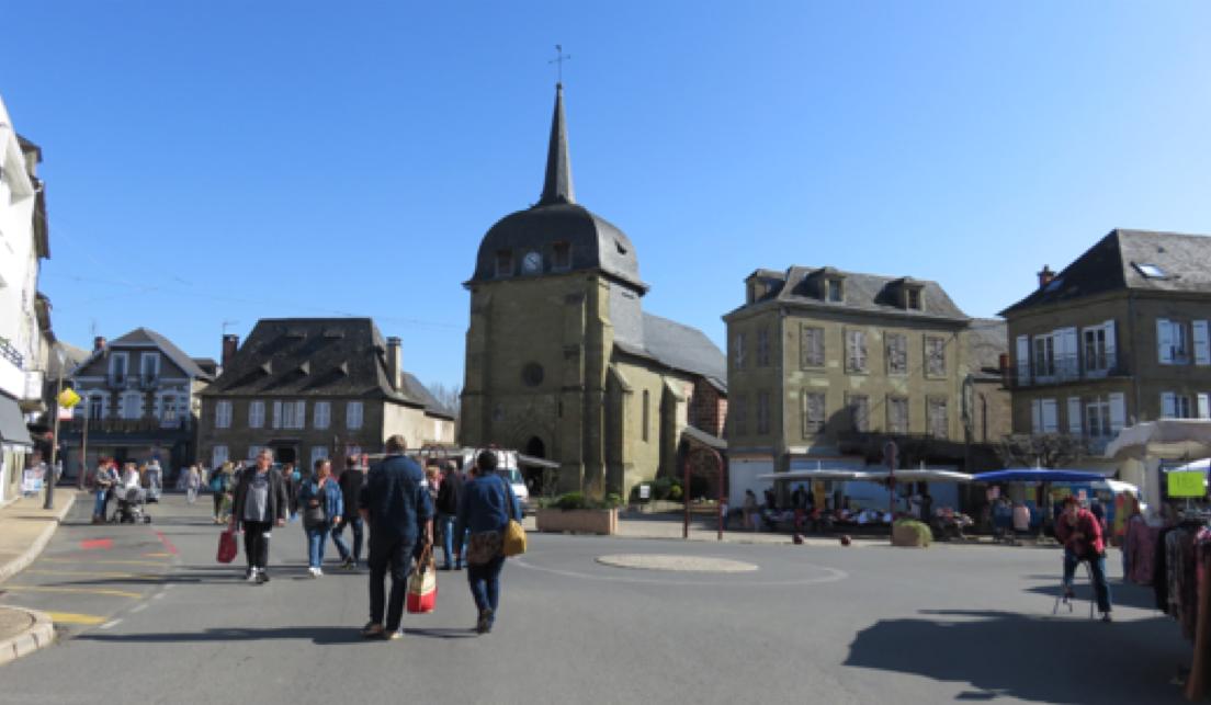 Centre bourg d'Objat