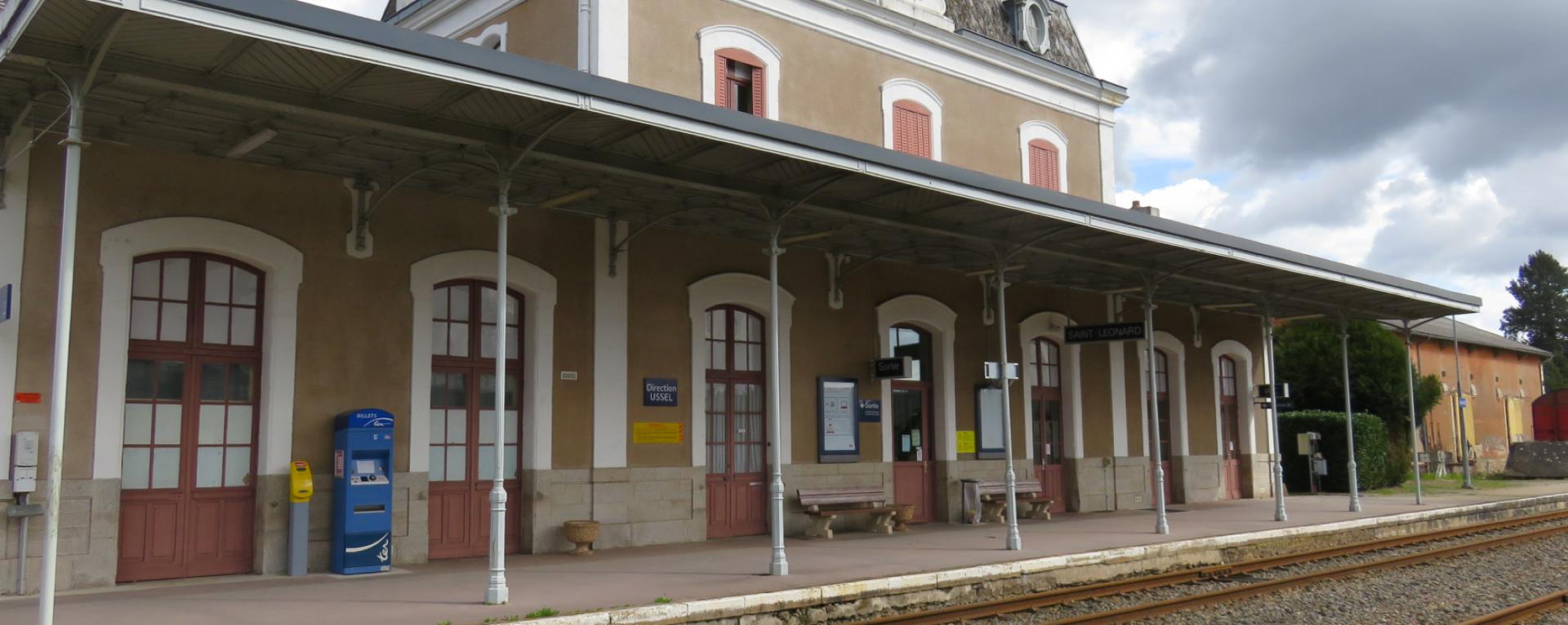 Projet de circulations ferroviaires touristiques - Saint-Léonard-de-Noblat [87]