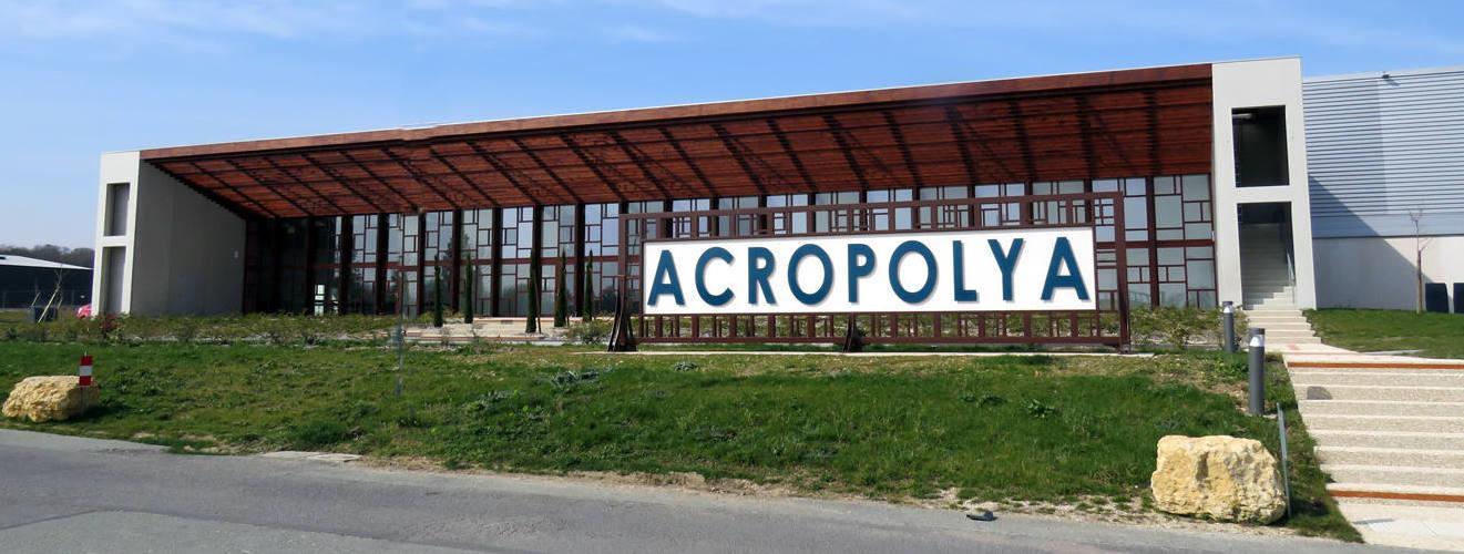 La salle Acropolya attend ses premiers spectateurs. © Photo NR